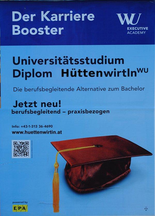 """Diplom """"Hüttenwirtin"""""""