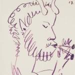 Pablo Picasso: Der flötenspielende Faun