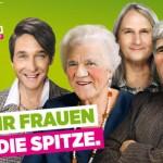 Plakat der Grünen zum Frauentag